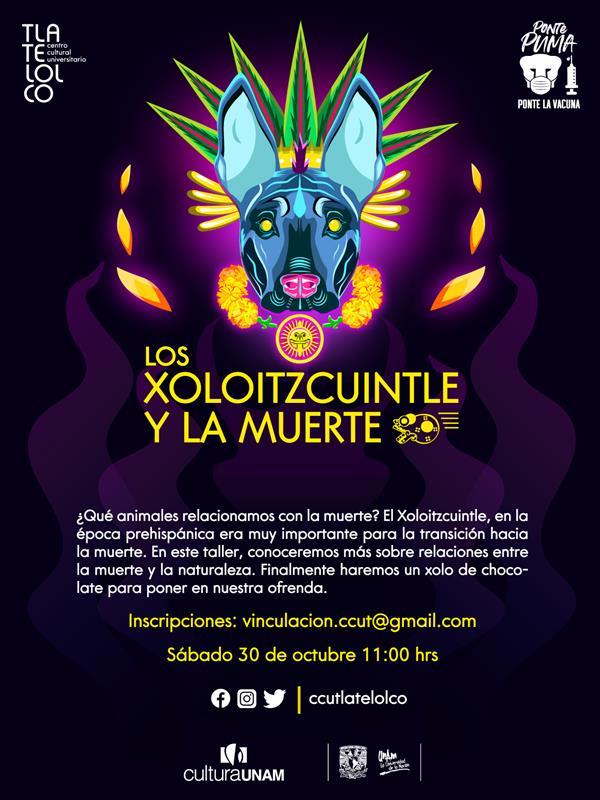 Taller infantil  LOS XOLOITZCUINTLE Y LA MUERTE